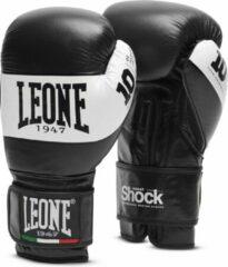 Leone (kick)bokshandschoenen Shock Zwart/Wit 10oz