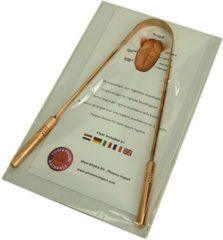 Zwarte ProYoga - Tongreiniger Superior - Koper - 1 stuk - Authentiek - Bevordert de mondhygiëne - Luxe tongreiniger - Tongschraper