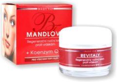 BODY TIP Regenererende Anti-aging Nachtcrème met Amandelolie + Q10 - 50ml