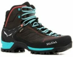 Salewa Mountain Trainer Mid GTX Schoen Dames Middengrijs/Turkoois
