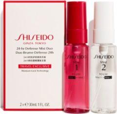 Shiseido 24-hr Defense Mist Duo - 2 x 30 ml - hydraterende travelset