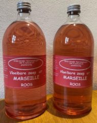 Provendi Vloeibare Marseille zeep, navulling 2 x 1000 ml Roos