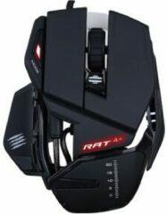 MadCatz R.A.T. 4+ Gaming-muis USB Optisch Verlicht, Ergonomisch, Polssteun Zwart