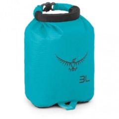 Blauwgroene Osprey Ultralight DrySack 3 afsluitbare zak - Dry Bag zakken