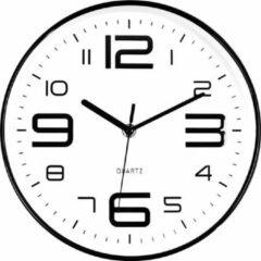 Witte SensaHome Wandklok - Stille Uurwerk - Diameter 25cm - TM20014 - 4