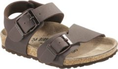 Birkenstock New York Slipper Junior Slippers - Maat 29 - Unisex - bruin