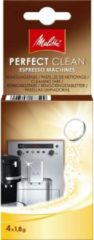 Melitta Perfectclean Espresso Machines - Reinigingstablet 4 stuks in doosje - AKTIE!