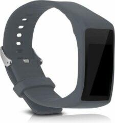 Kwmobile horlogeband voor Polar A360 / A370 - siliconen armband voor fitnesstracker - grijs