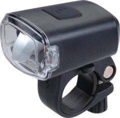 Zwarte BBB Cycling Stud 130 Lumen Fietsverlichting - USB oplaadbare Koplamp Fiets BLS-141
