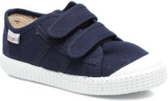 Blauwe Lage Sneakers Victoria BLUCHER LONA DOS VELCROS