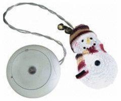 Witte Konstsmide Acrylic snowman, LED Geschikt voor gebruik binnen 1lampen LED