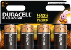 Duracell Plus Power MN1300 - Batterie 4 x D Alkalisch DUR019201