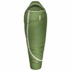 Grüezi Bag - Biopod DownWool Nature - Donzen slaapzak maat 215 x 80 x 50 cm, olijfgroen