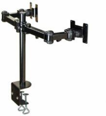 NewStar FPMA-D960D Monitor-tafelbeugel 2-voudig 25,4 cm (10) - 68,6 cm (27) Kantelbaar, Zwenkbaar, Roteerbaar