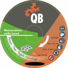 Grijze Meerman Diamant zaagblad QB natuursteen volle band Ø200mm asgat 22,2mm - slijpschijf