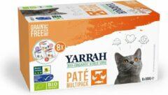 8x Yarrah Bio Multipack Pate Kat 8 kuipjes