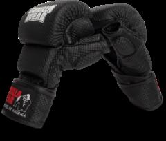 Gorilla Wear Ely MMA Bokshandschoenen - Zwart/Wit