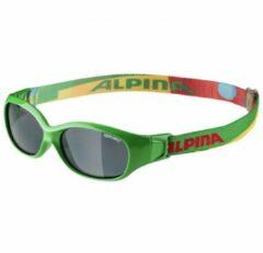 Alpina - Sports Flexxy Kids Ceramic Black S3 - Zonnebrillen groen/grijs/olijfgroen