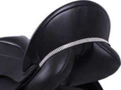 Zilveren QHP Zadelsieraad Madelon - Black/silver - Full