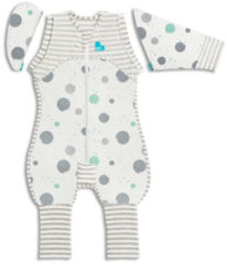 Love to Dream Stage 2 Swaddle UP Transition Suit babyslaapzak LITE Medium wit