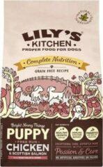 2,5 kg Lily's kitchen dog puppy chicken / salmon hondenvoer