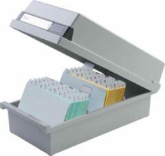Licht-grijze HAN 965-11 Systeemkaartenbak Lichtgrijs A5 800 kaarten Kunststof 23,5 x 25 x 19 cm