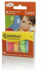 OHROPAX Gehoorbescherming Oordopjes Color 8 Stuks