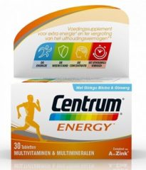 Centrum Energy - 30 tabletten - Multivitaminen