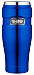 Thermos thermosbeker King metallic blauw 0,47 l