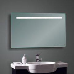 Transparante Diamond Line Badkamerspiegel Fiona 60x80cm Geintegreerde LED Verlichting Lichtschakelaar