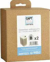 Domena filter ontkalkings cassette antikalk 2 stuks FG serie type B met EMC voor strijkijzer anti kalk cartridge navullingen