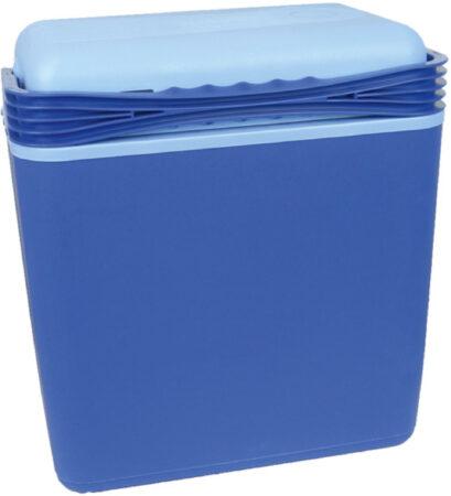 Afbeelding van Blauwe Carpoint Koelbox 21 Liter Met 12/230v Stekkers Blauw