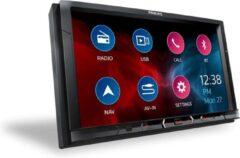 Zwarte Philips CE600N - Autoradio dubbeldin - Bluetooth - USB - Media - GPS - Navigatie