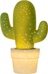 Grüne Tischleuchte Cactus mit dekorativer Wirkung