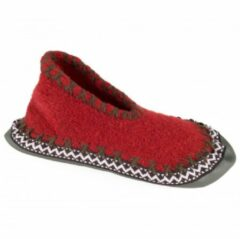Rode Ortovox - Monialm - Hutpantoffels maat 30 rood/grijs