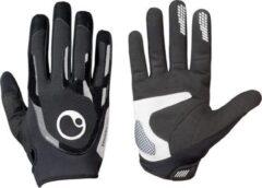 Zwarte Ergon TB Technical Unisex Fietshandschoenen Maat S
