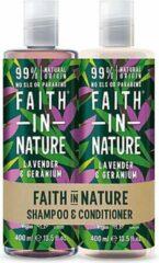 Faith in nature lavender en geranium shampoo en conditioner
