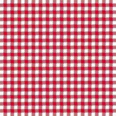 Ambiente Oktoberfest - 80x stuks Servetten geruit rood/wit 3-laags - feestartikelen party bbq servetjes