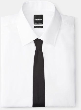 Afbeelding van Zwarte Strellson Zijden stropdas, zwart