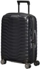 Zwarte Samsonite Proxis handbagage spinner 55 cm black