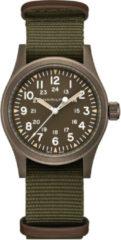 Kaki Hamilton Khaki Field Mechanical horloge H69449961