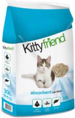 Kitty friend absorbents kattenbakvulling 30 LTR