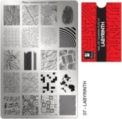 Moyra Stamping Plate 07 - Labyrinth