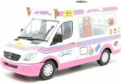 Roze Whitby Mondial Ice Cream Van Mr.Whippy 1-43 Rose/Wit Oxford