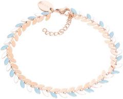 IXXXi Armband Malediven Blauw - Rosé