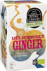 Royal Green Royal groen Deliciously Ginger Bio (16st)