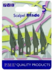 Zilveren PME Legend Spare scalpel blades PME/ 5