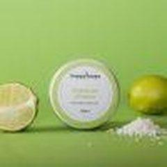 HappySoaps Natuurlijke Deodorant kokosnoot Limoen - plasticvrij- dierproefvrij- 50 ml