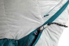 Nemo - Women's Kayu 15 - Donzen slaapzak maat 167 cm - Regular, grijs/groen