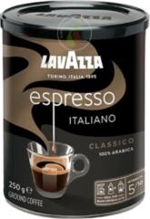 Lavazza Caffe Espresso Italiano Black Tin Filterkoffie 250 gram